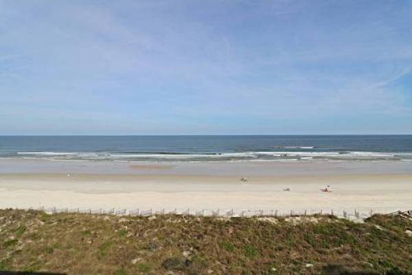 beach view at sand dollar condos